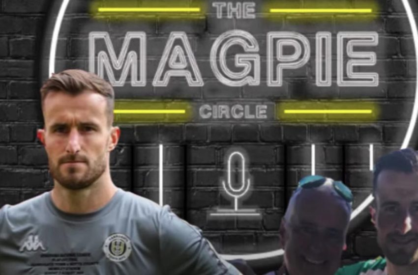 The Magpie Circle: 'Seeing Magpies in green rather than black and white made it easier for me in final,' says Harrogate keeper and County fan James Belshaw