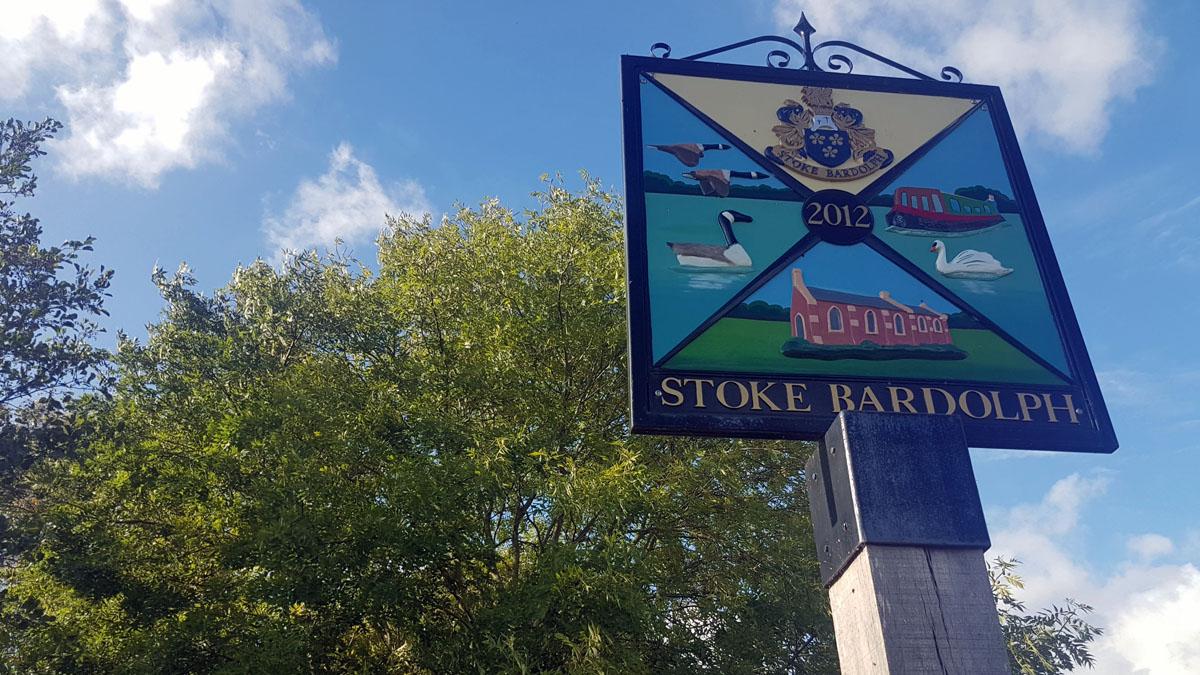 Stoke Bardolph sign