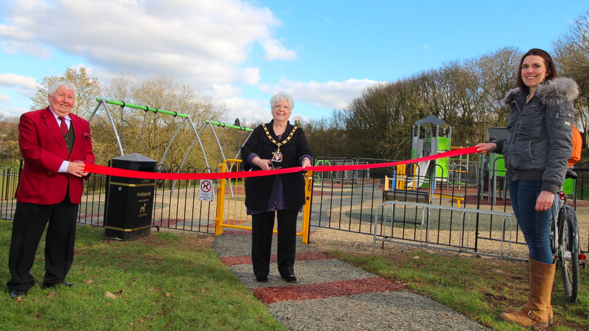 Breck Hill Park reopening