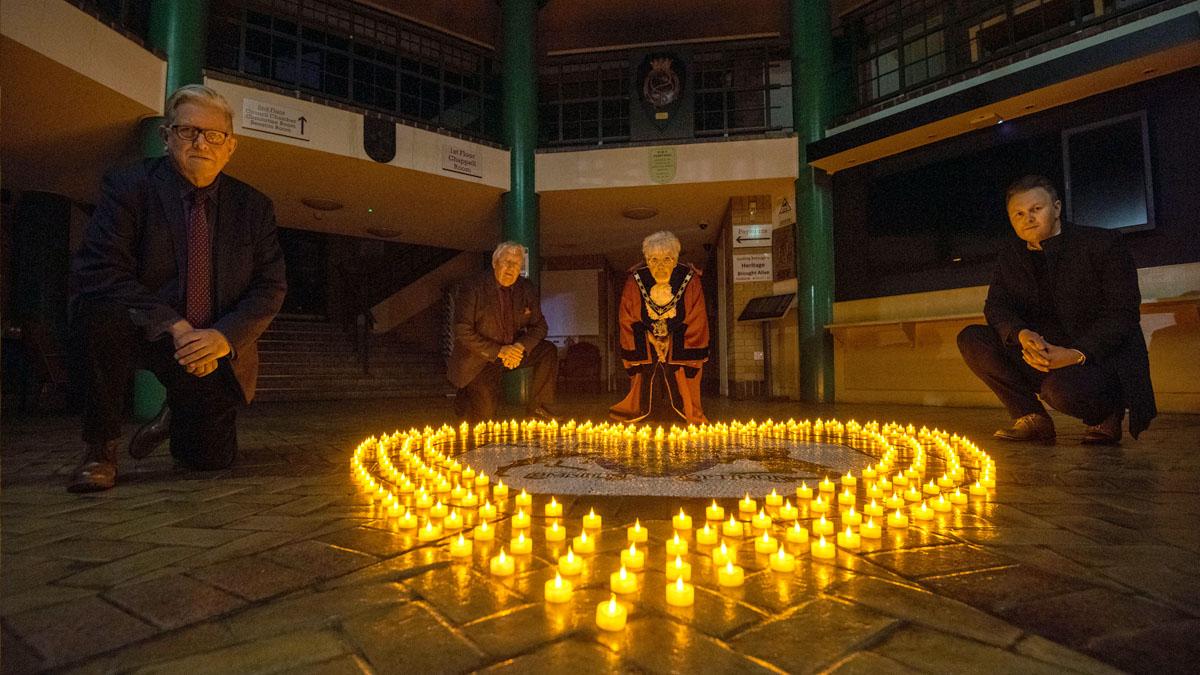 Gedling vigil covid