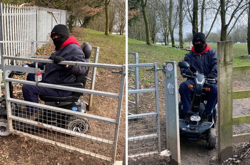 Anger at lack of disabled access to Gedling Country Park