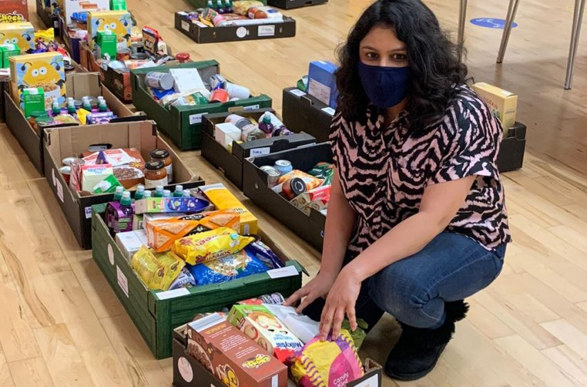Volunteers provide food for struggling families this half term in Gedling borough