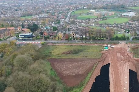 Mapperley Plains lane closure to be lifted as Gedling Access Road works progress