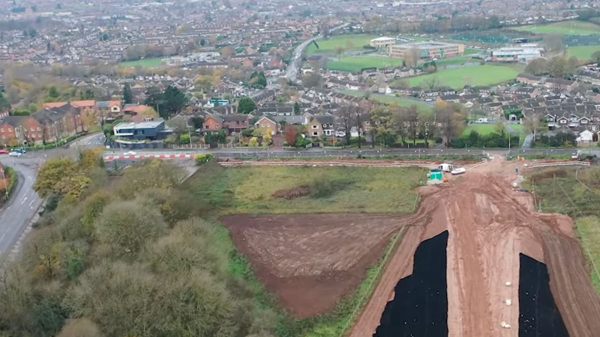 Mapperley Plains above