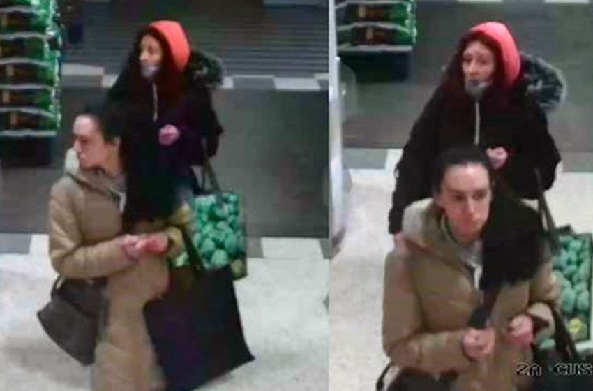 Police release CCTV images of women suspected of shoplifting spree at Victoria Retail Park in Netherfield