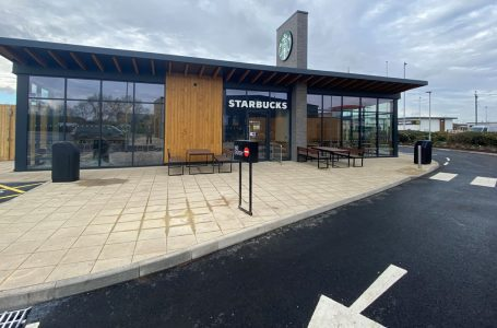 New Starbucks Drive Thru opens tomorrow at Victoria Retail Park in Netherfield creating 16 new jobs