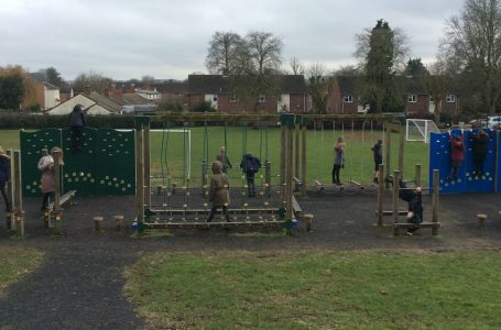 Burton Joyce Primary School's trim trail fundraiser on track following donation from nearby housebuilder