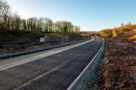 £40m Gedling Access Road on track to be completed in the autumn