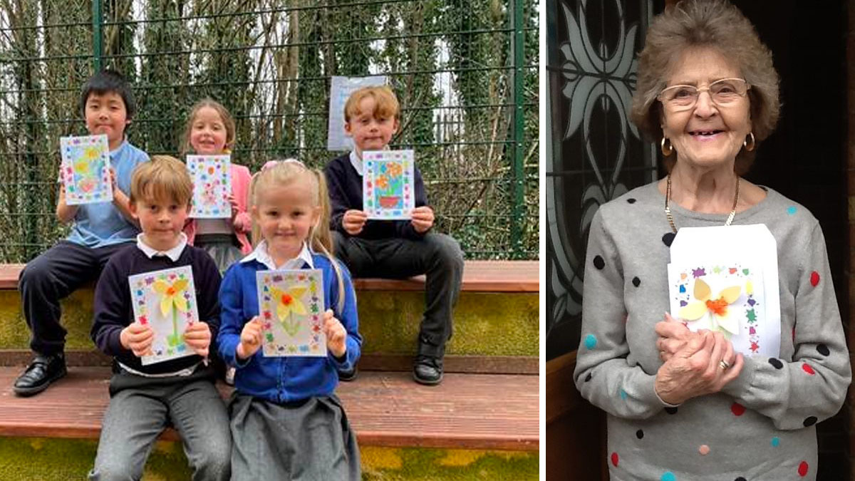 Pupils Netherfield easter cards