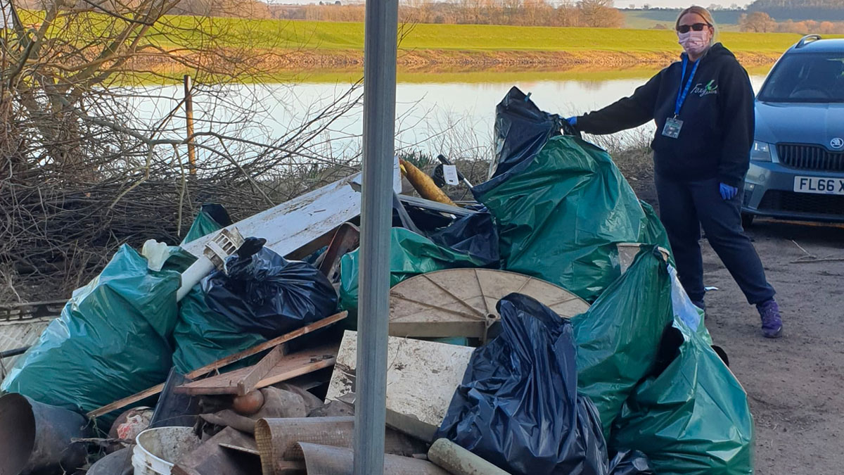 Riverside clean up