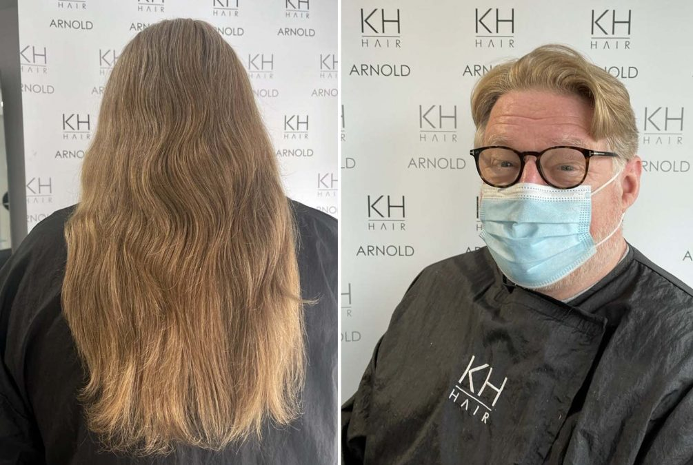 Bon gets hair cut KH Hair Arnold