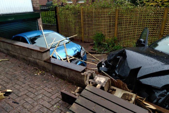 Mappperly car smash
