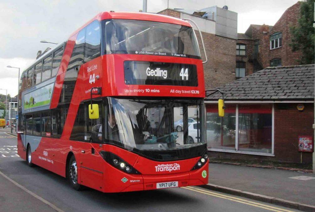 44 bus Gedling