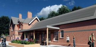 Gedling Station 3d image