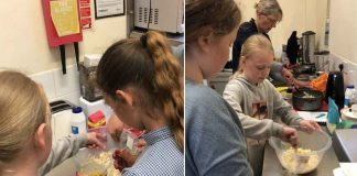 Netherfield Youth Club cooking