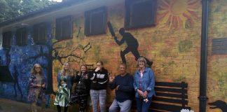 Burton Road Jubilee Park mural