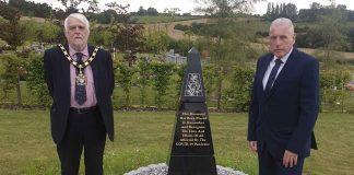 Covid memorial Gedling Crematorium