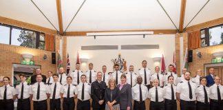 Nottinghamshire Police sworn in Arnold