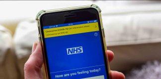 NHS app facebook