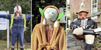 Scarecrow festival Stoke Bardolph