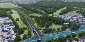 Gedling Access Road visualisation