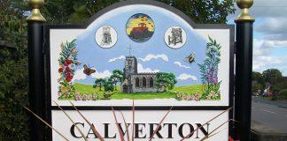 Calverton-sign