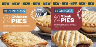 Greggs pies Iceland